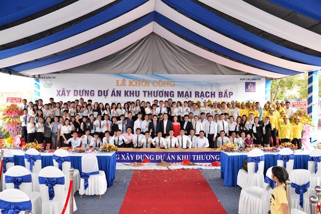Phạm Anh Khoa, Hoàng Yến Chibi khuấy động lễ khởi công Khu thương mại Rạch Bắp – An Điền - 5