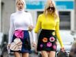 4 quy tắc vừa đẹp vừa ấm cho hội mê váy ngắn mùa thu đông
