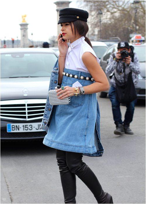 Quần jeans đính ngọc trai - không chỉ dành cho nàng bánh bèo - 8