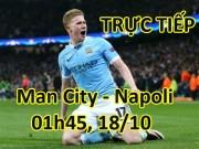 TRỰC TIẾP bóng đá Man City - Napoli: Hamsik quyết phá kỷ lục Maradona