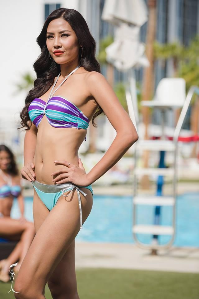 Quá bất ngờ với danh tính cô gái Việt dự thi Hoa hậu Hoàn vũ (thế giới) 2017 - 3