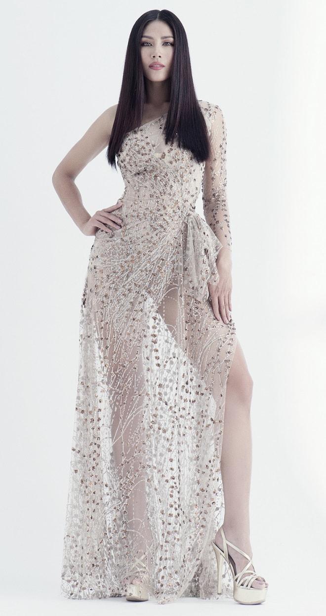 Quá bất ngờ với danh tính cô gái Việt dự thi Hoa hậu Hoàn vũ (thế giới) 2017 - 6