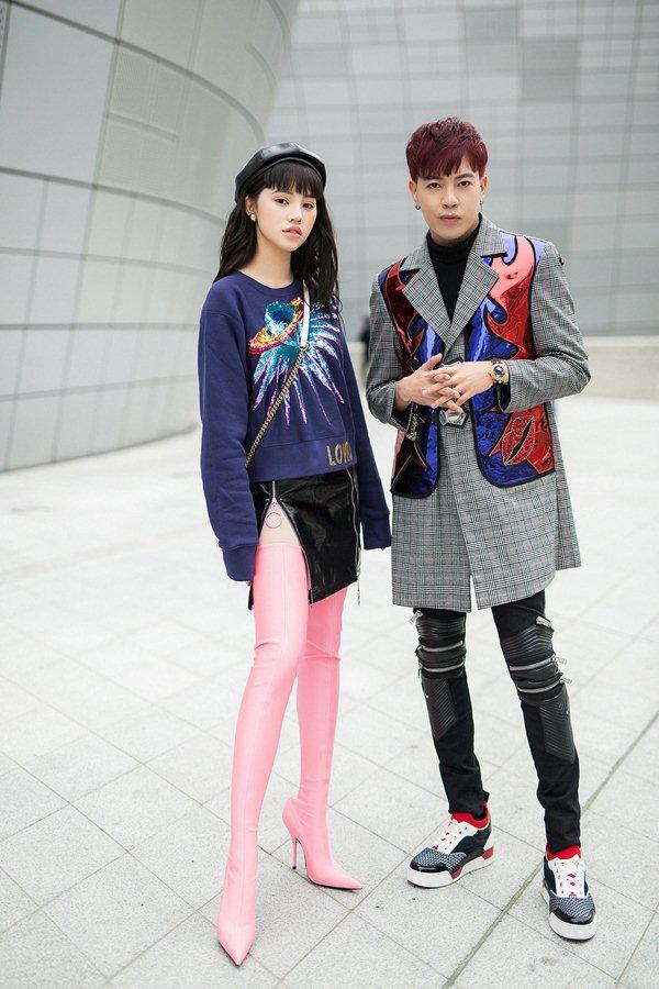 """""""Tiểu thư hội con nhà giàu Việt"""" bơm ngực để đi Tuần lễ thời trang Seoul? - 6"""