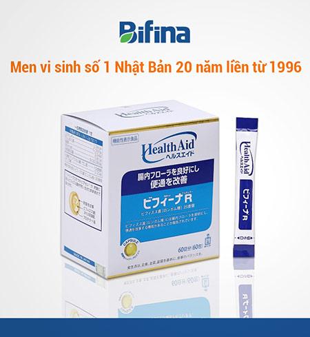 Men vi sinh Bifina Nhật Bản – Chuyên hỗ trợ điều trị viêm đại tràng mạn tính - 4