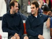 """Federer """"siêu vĩ đại"""" ở tuổi 36: Nhờ huyền thoại Sampras dẫn lối"""