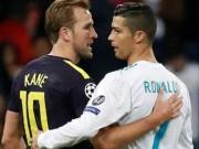 """Ronaldo """"chiến"""" Harry Kane cúp C1: Hòa 5-5, chờ tái đấu lượt về"""