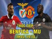 TRỰC TIẾP Benfica - MU: Trả giá đắt vì sai lầm tai hại (KT)
