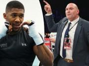 Tin thể thao HOT 18/10: Anthony Joshua đấu Tyson Fury vào năm 2018