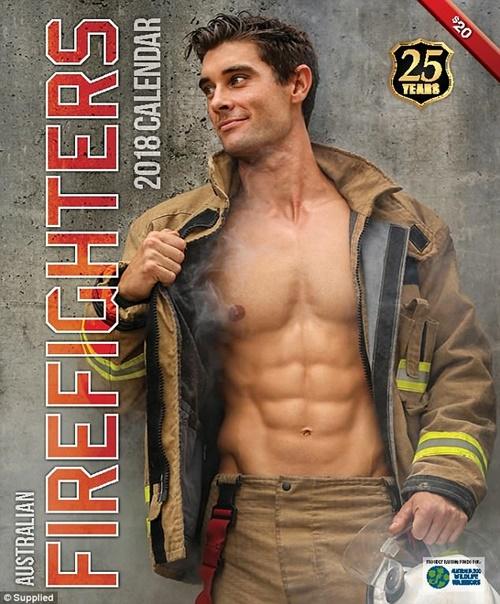 Các chàng lính cứu hỏa Úc đốn tim với vẻ đẹp ngang siêu mẫu - 1