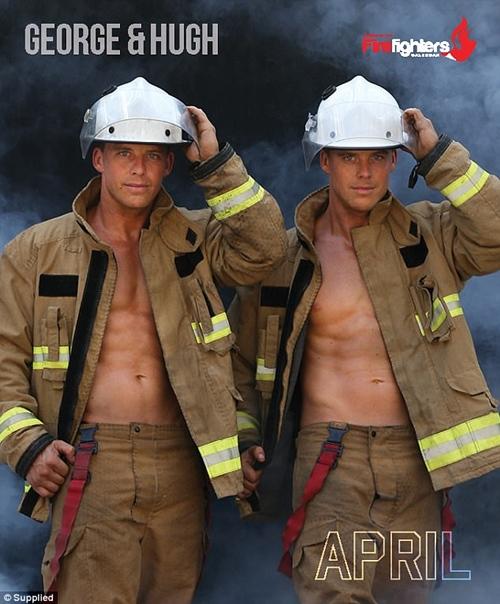Các chàng lính cứu hỏa Úc đốn tim với vẻ đẹp ngang siêu mẫu - 7