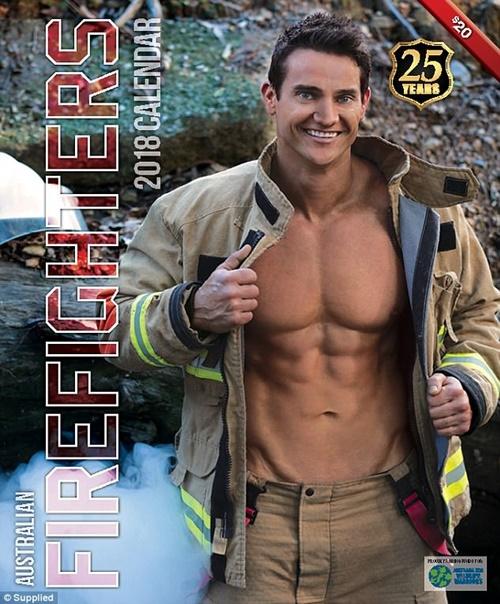 Các chàng lính cứu hỏa Úc đốn tim với vẻ đẹp ngang siêu mẫu - 8