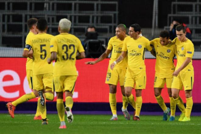 PSG tiếp tục có chiến thắng nhẹ nhàng tại Champions League