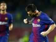 """Ronaldo gọi, Messi trả lời: """"Húc"""" đổ mốc 100 bàn cúp châu Âu"""