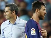 """Barca-Valverde tròn 100 ngày: Từ """"bại tướng"""" Việt Nam đến đưa Messi trở lại"""