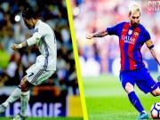 """Messi sút phạt siêu hạng, vẫn """"hít khói"""" kỷ lục của Ronaldo"""