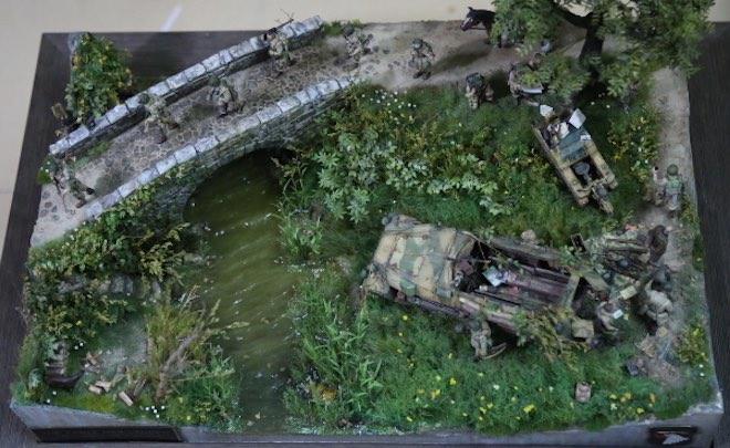 """Thế chiến thứ 2 tái hiện chân thực qua tay """"phù thủy mô hình"""" Việt - 1"""
