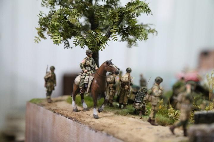"""Thế chiến thứ 2 tái hiện chân thực qua tay """"phù thủy mô hình"""" Việt - 2"""