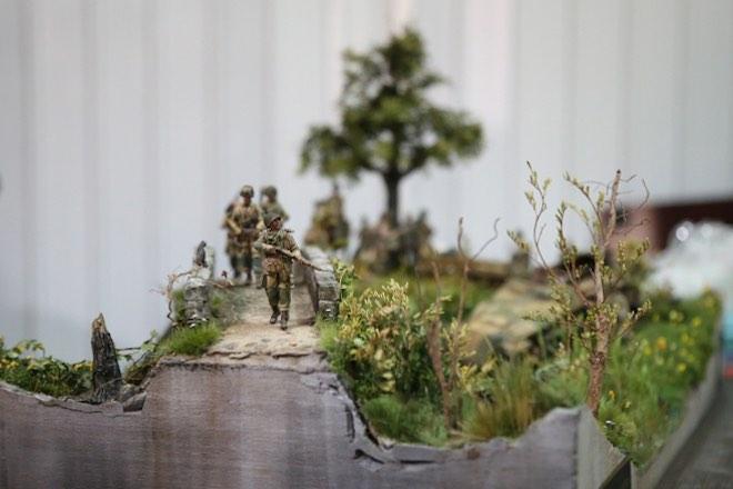 """Thế chiến thứ 2 tái hiện chân thực qua tay """"phù thủy mô hình"""" Việt - 3"""