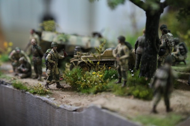 """Thế chiến thứ 2 tái hiện chân thực qua tay """"phù thủy mô hình"""" Việt - 4"""