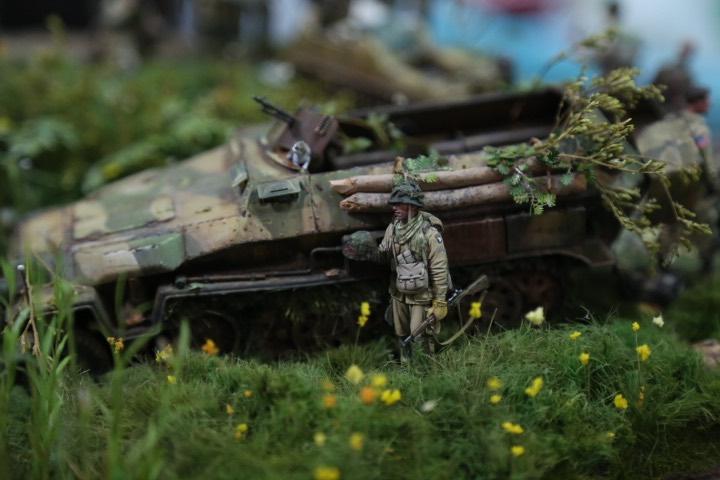 """Thế chiến thứ 2 tái hiện chân thực qua tay """"phù thủy mô hình"""" Việt - 7"""