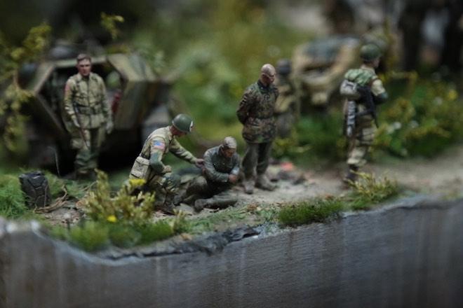 """Thế chiến thứ 2 tái hiện chân thực qua tay """"phù thủy mô hình"""" Việt - 8"""