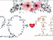 Thầy giáo thiết kế thiệp chúc mừng 20/10 từ 40 phản ứng hóa học tặng các nữ sinh