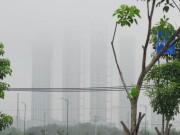 Tin tức trong ngày - Sương mù dày đặc xuất hiện ở SG, gần trưa vẫn không hết