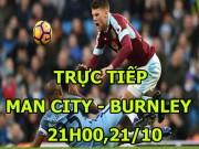 TRỰC TIẾP bóng đá Man City - Burnley: De Bruyne là Ronaldo của Man City