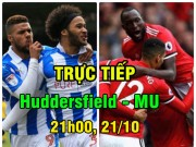 TRỰC TIẾP bóng đá Huddersfield - MU: Pogba mịt mờ ngày trở lại