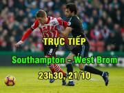 """TRỰC TIẾP Southampton - West Brom: """"Búa liềm"""" Ba Lan lâm trận"""