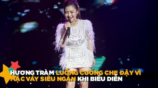 """""""Em gái mưa"""" Hương Tràm luống cuống vì mốt váy siêu ngắn HOT nhất tuần"""