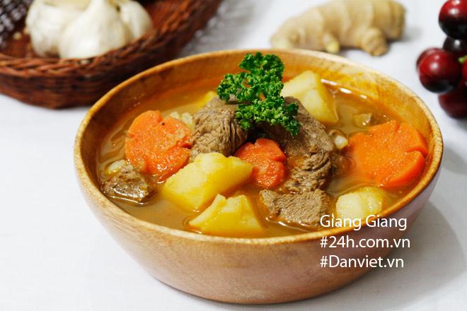 Bữa tối với thịt bò sốt vang, bụng no căng mà miệng vẫn thòm thèm - 9
