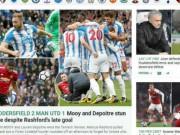"""MU thua sốc: Herrera lên tiếng chê bai, Mourinho nổi giận """"lôi đình"""""""