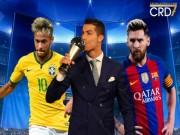 Cầu thủ xuất sắc nhất FIFA 2017: Ronaldo 99% hạ liên minh Messi - Neymar?