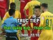Chi tiết Than Quảng Ninh - Thanh Hóa: Bàn thắng như mưa (KT)