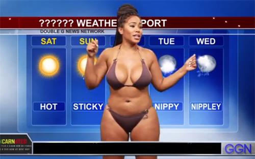 Khó tin khi thấy MC truyền hình ăn vận thiếu vải lúc lên sóng - 11