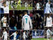 """Ronaldo """"chân gỗ"""": 50 sắc thái giận dữ, tiếc nuối, bất lực trước nhược tiểu"""
