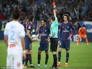 """Thuyết âm mưu: Neymar nổi loạn, nhận thẻ đỏ để """"dằn mặt"""" HLV PSG"""
