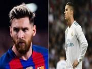 """Tiêu điểm vòng 9 La Liga: Messi chậm lại, Ronaldo vẫn """"cùn"""""""