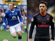 """Bàn thắng đẹp Ngoại hạng Anh vòng 9: Rooney """"nã pháo"""" đọ siêu phẩm Sanchez"""