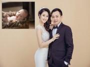 Hoa hậu Thu Ngân sinh quý tử với chồng đại gia