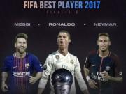 TRỰC TIẾP trao giải Cầu thủ xuất sắc nhất FIFA 2017: Ronaldo diện giày lạ đi dự tiệc