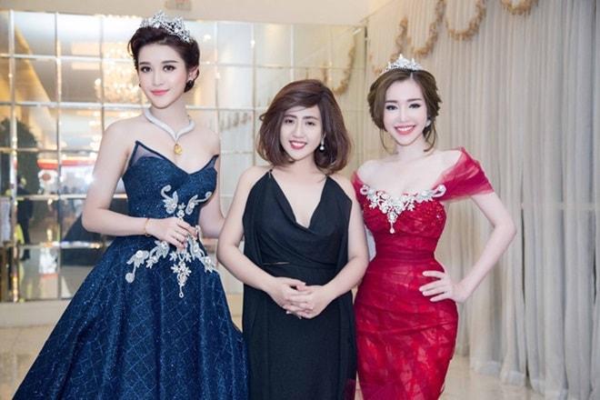 Tiết lộ về váy trăm triệu của Huyền My tại chung kết Hoa hậu Hòa bình - 1