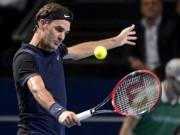 """Basel Open ngày 1: Federer đau đầu vì đụng """"hàng cứng"""""""