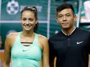 Hoa khôi quần vợt tiếp lửa Hoàng Nam ra quân Vietnam Open
