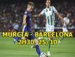 Murcia - Barcelona: Nằm bẹp dưới chân gã khổng lồ