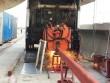 """Máy hàn """"quái vật"""" đang lắp đường ray metro Bến Thành –Suối Tiên"""