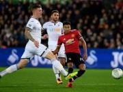 Chi tiết Swansea - MU: Hụt bàn danh dự phút chót (KT)