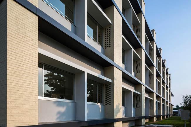 Kiến trúc độc đáo của trường Đại học Nhật Bản tại Việt Nam được ca ngợi - 2