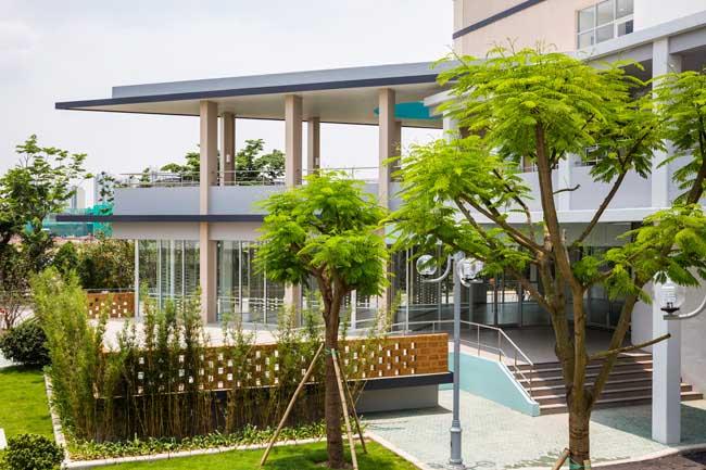 Kiến trúc độc đáo của trường Đại học Nhật Bản tại Việt Nam được ca ngợi - 4